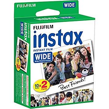 FUJIFILM INTAX WIDE 10x2 INTANT FILM