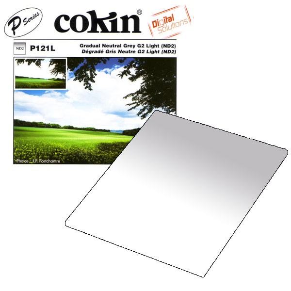 Cokin Serie P 121L Gradual Neutral Grey G2 Light (ND2)