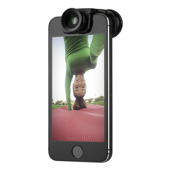 Olloclip Selfie 3-in-1 Photo Lens Black for iPhone 5/5s