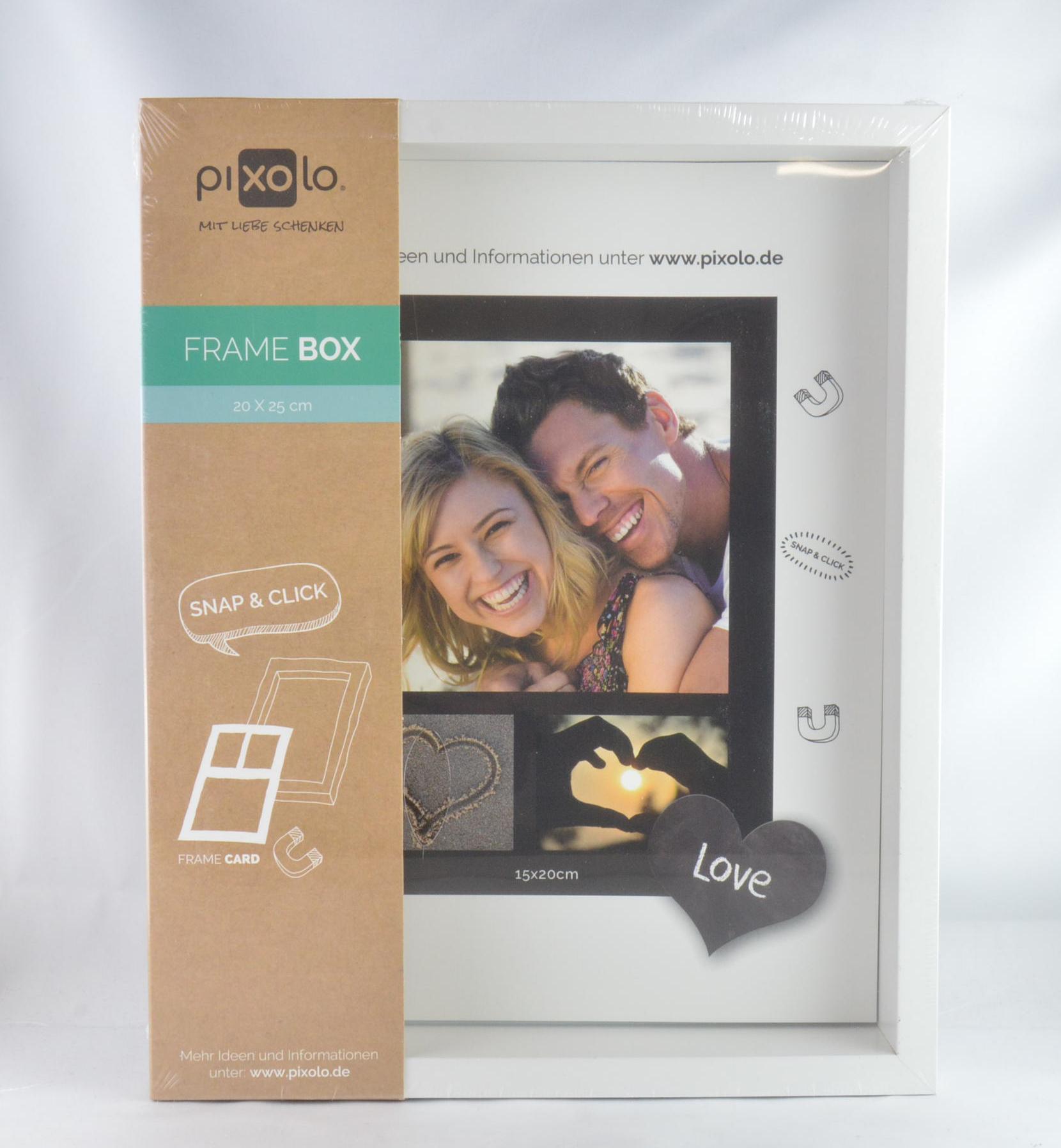 Pixolo Frame Box magnetico 20x25 x frame card White