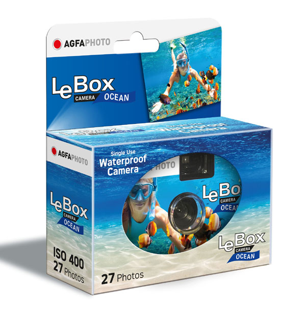 AGFA Le Box Ocean Usa & Getta subacquea 27 pose