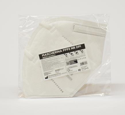 MASCHERINA DPI FFP3 MOD A367 NR D CE0086   10 pz