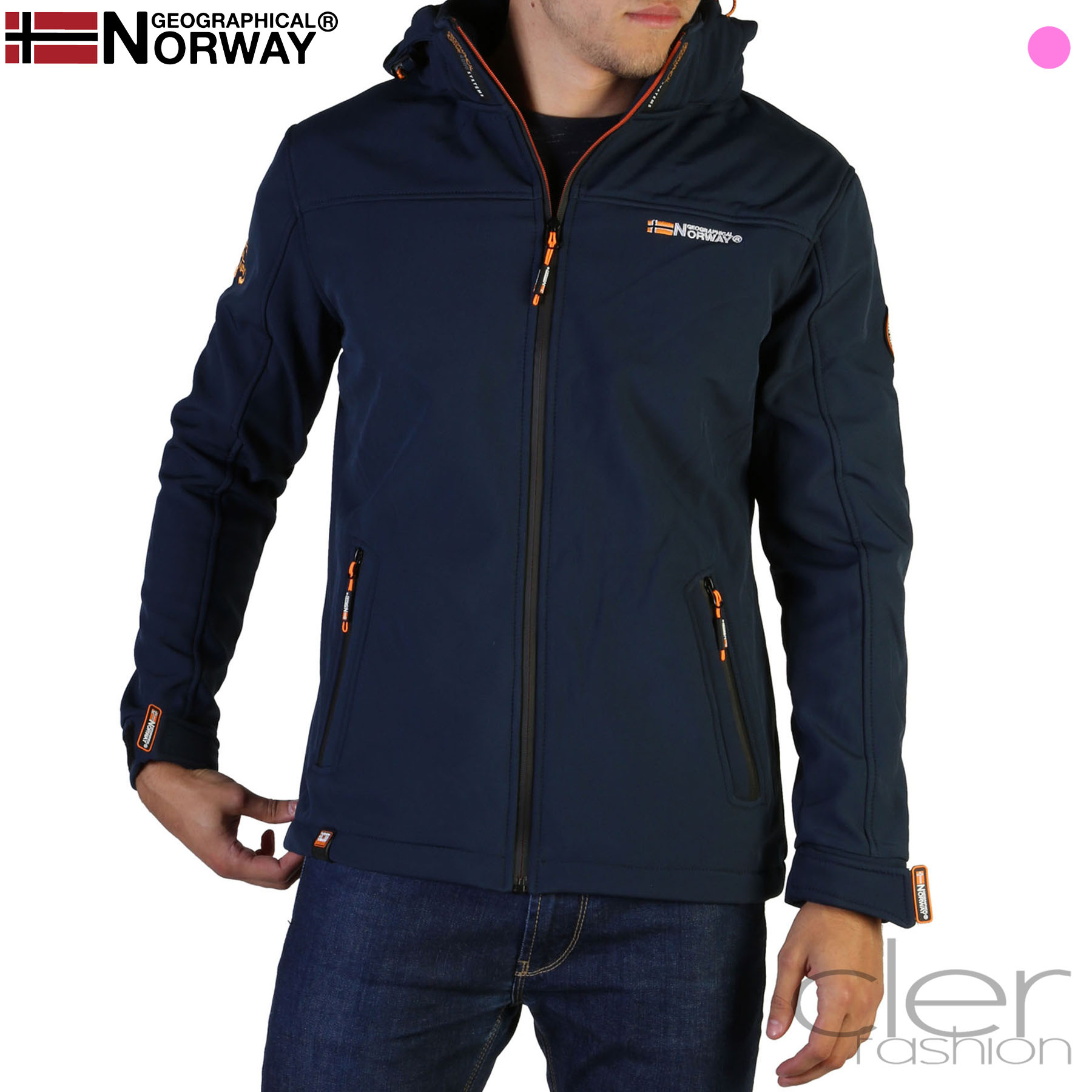 Vestes Geographical Norway Takeaway_man Homme Bleu 102566