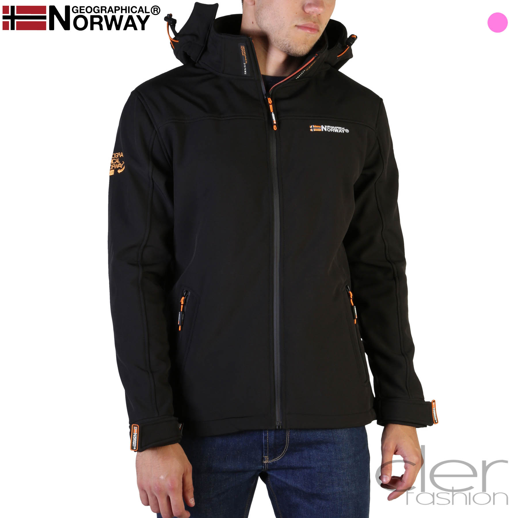 Vestes Geographical Norway Takeaway_man Homme Noir 102565
