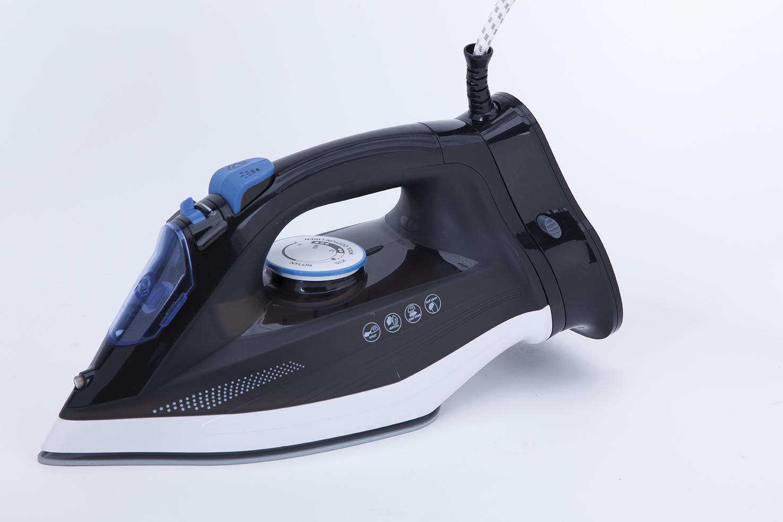 Ferro a stiro a vapore senza filo, 2.600W, Blu/Bianco